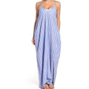 Elan Maxi Denim Dress